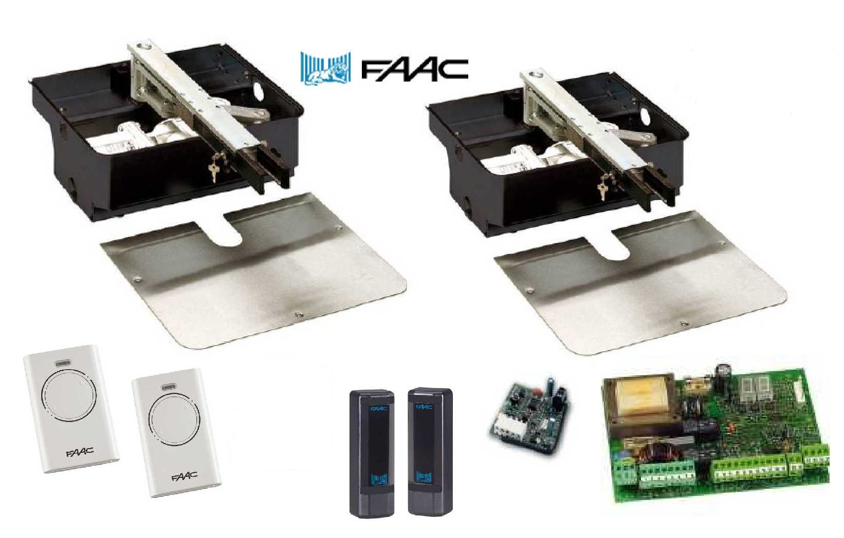 FAAC Automated Gates   Park 100 Fire & Security South East